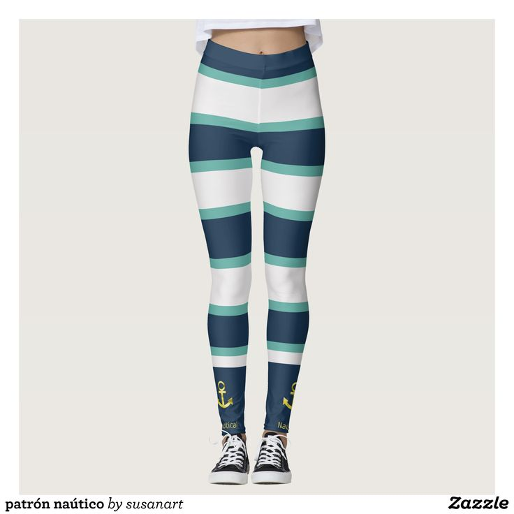 landlord nautical leggings : Beautiful #Yoga Pants - #Exercise Leggings and #Running Tights - Health and Training Inspiration - Clothing for #Fitspiration and #Fitspo - #Fitness and #Gym #Inspo - #Motivational #Workout Clothes - Style AND #comfort can both be possible in one perfect pair of custom #leggings. #landlord nautical leggings was crafted made with care each pair of leggings is printed before being sewn allowing for #fun and #creative designs on every square inch - Medium weight…