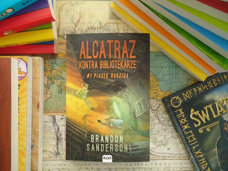 "Brandon Sanderson ""Alcatraz kontra Bibliotekarze"""