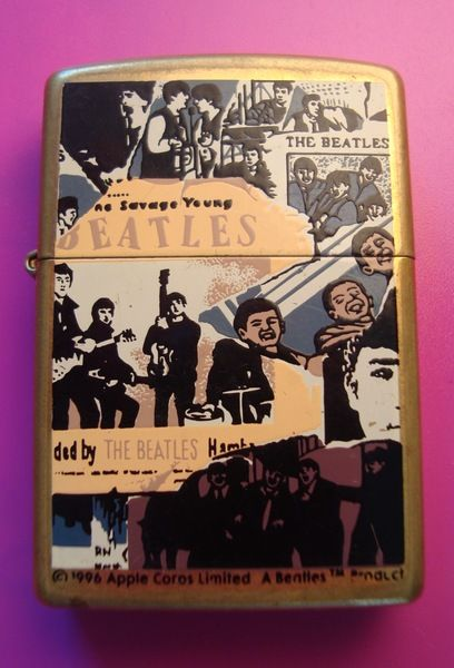 The Beatles Zippo Authentic Lighter Vintage