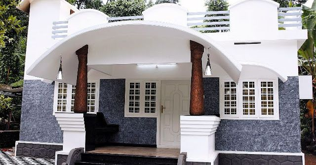 Beautiful Low Budget Kerala Home Plan In 960 Sq Ft Under 10 Lakhs With 03 Bedrooms Free Kerala Home Pl In 2020 Kerala Houses Bungalow House Design Budget House Plans