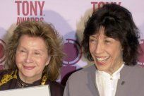 Lily Tomlin weds longtime partner.  Lily is 74 and Jane is 78.
