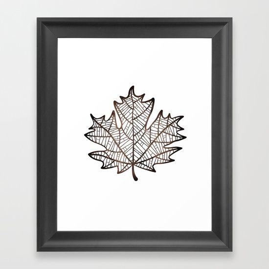 Seasons - Autumn Framed Art Print