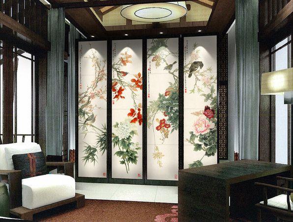 23 best images about papier peint d 39 artiste on pinterest floral vintage and atelier. Black Bedroom Furniture Sets. Home Design Ideas