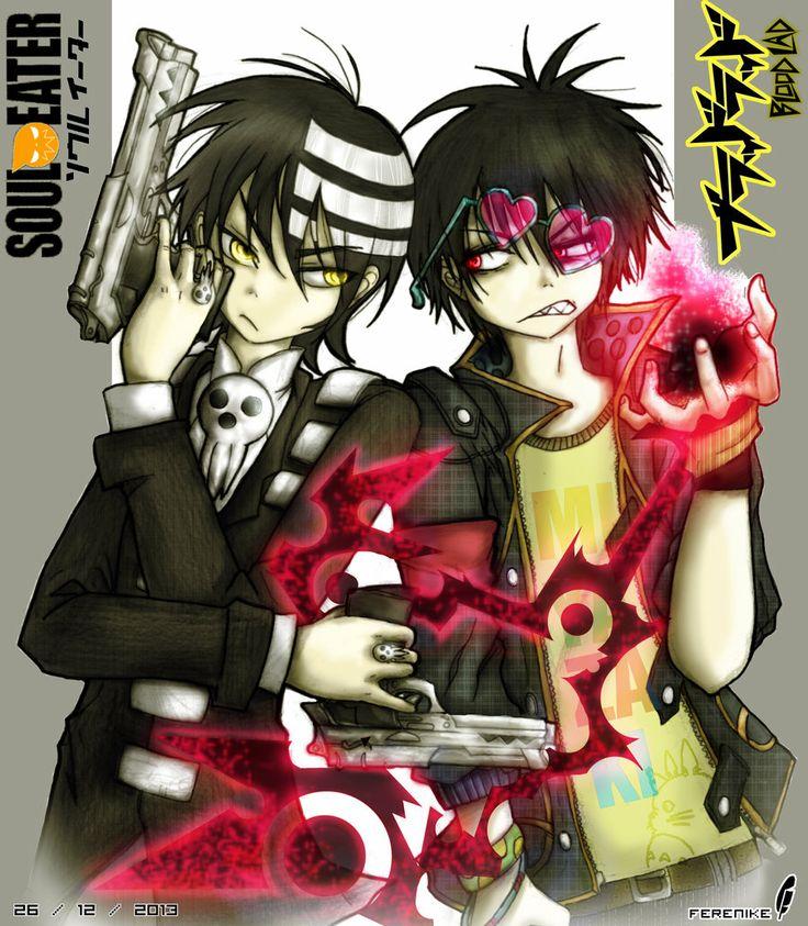 Fanart  - Death the Kid VS. Staz by Ferenike.deviantart.com on @deviantART  Death the Kid - Soul Eater (Atsushi Ohkubo) Staz Charlie Blood  -  Blood Lad (Yuuki Kodama)  Estos dos personajes del manga de Soul Eater y el de Blood Lad, me caen re bien. Se me hacen un poco similares :P y por eso realicé un versus  #SoulEater @sven marvin #DeathTheKid #Staz