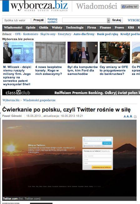 #report #Twitter #Poland #Flockbeat #Thinkmedia #stats