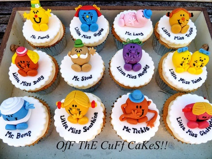 Mr Men & Little Miss! Cake by OfF ThE CuFf CaKeS!!