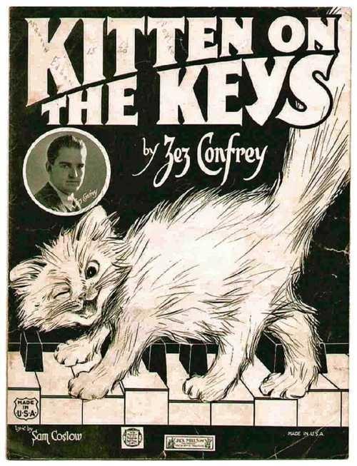 #cat #piano #kitten on the keys sheet music