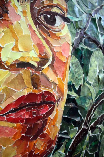Frida Paper Collage