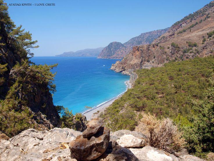 Domata beach. Chania, Crete, Greece