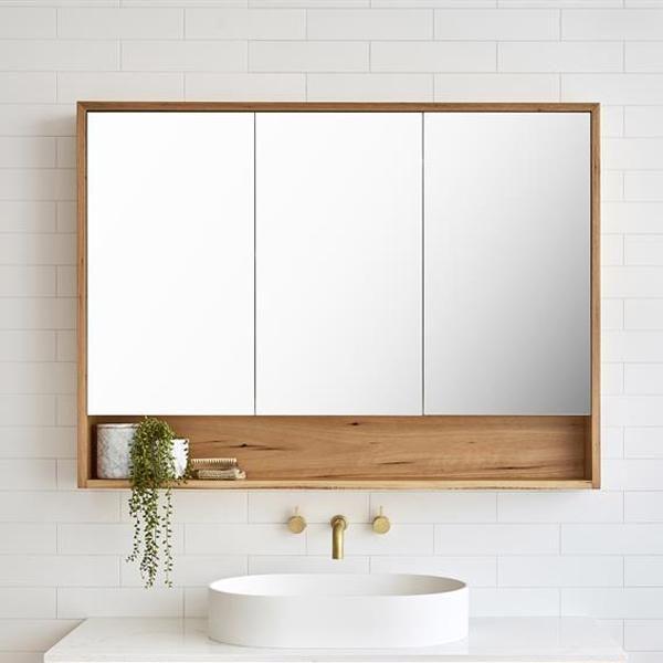 Loughlin Furniture Elanora Mirror Cabinet In 2020 Bathroom Mirror Storage Mirror Cabinets Small Bathroom Mirrors