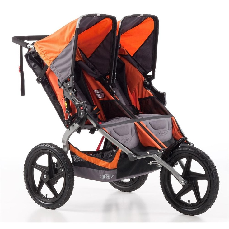 414 Check out the BOB Sport Utility Double Stroller with