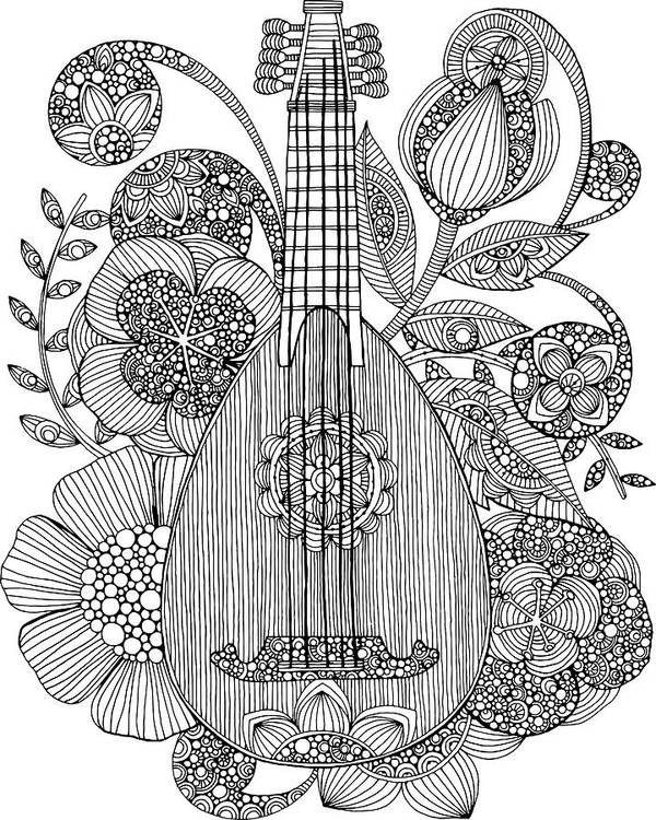 Ever Mandolin Art Print By Mgl Meiklejohn Graphics Licensing In 2021 Art Art Prints Music Coloring