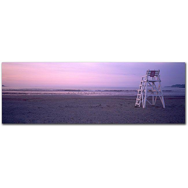 Preston 'Beach Chair' Gallery-wrapped Canvas Art