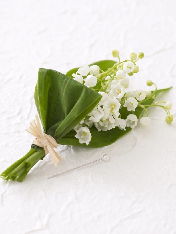 Bonus: Spring Boutonniere - Wedding Bouquet Ideas on HGTV