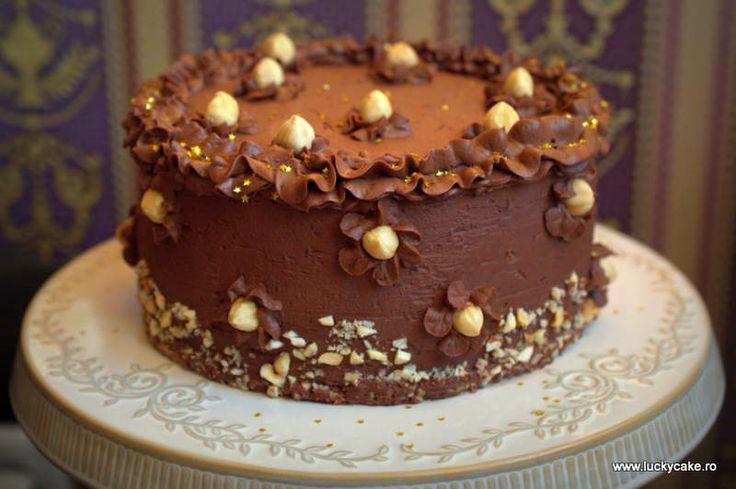 Tort Ferrero - Lucky Cake