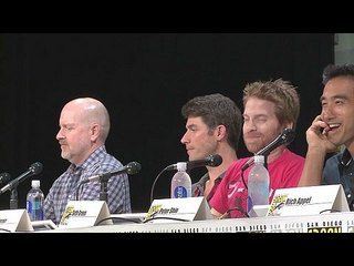 Family Guy - Season 13: Comic-Con 2014: Panel - Upcoming Episodes -- There's a fantastic season ahead, including The Simpsons crossover and a Christmas episode return of Jesus. -- http://www.tvweb.com/shows/family-guy/season-13--comic-con-2014-panel-upcoming-episodes