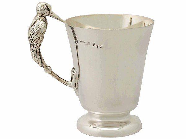 'Sterling Silver Christening Mug by Asprey & Co Ltd - Vintage' http://www.acsilver.co.uk/shop/pc/Sterling-Silver-Christening-Mug-by-Asprey-Co-Ltd-Vintage-Elizabeth-II-45p9294.htm
