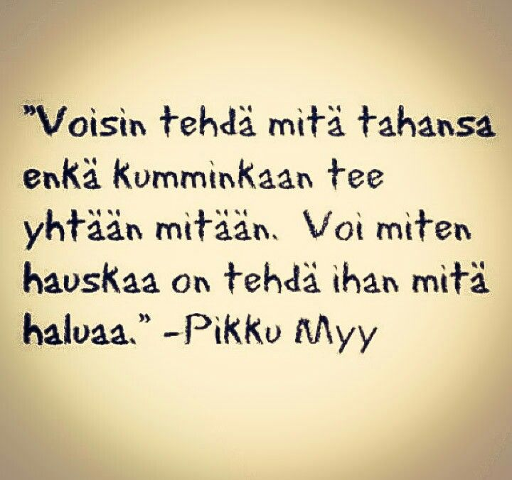 Viisaita sanoja.