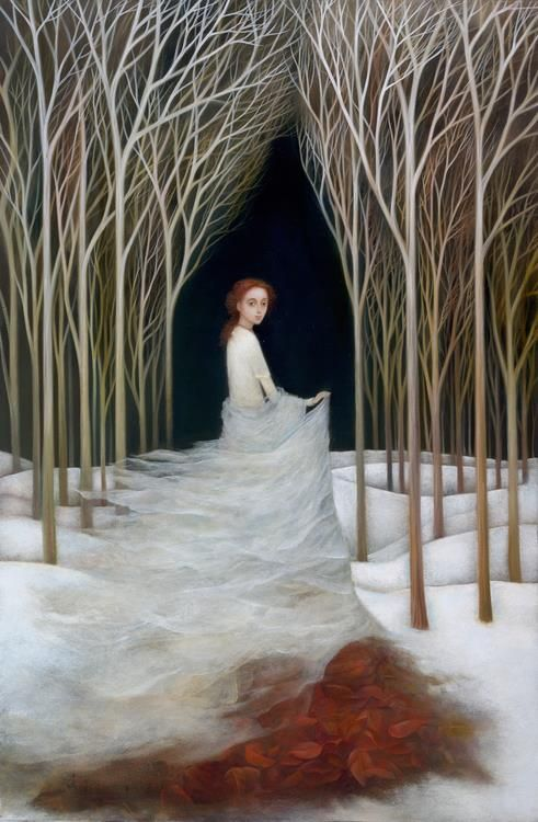 Snow Queen by Alla Tsank