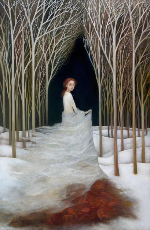 Snow Queen by Alla Tsank
