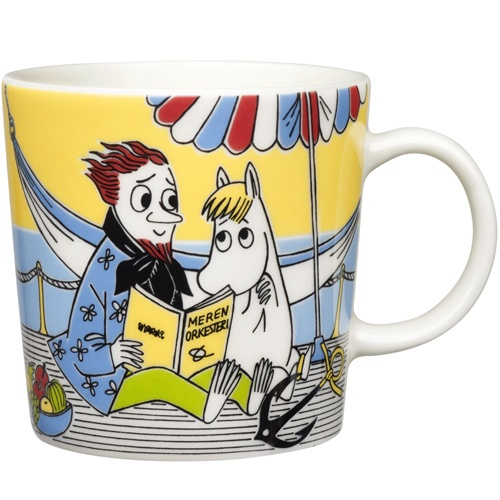 Moomin Mug: Snorkmaiden and the Poet NEW Pre-Order