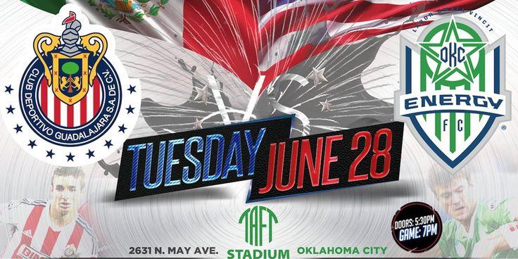 ANUNCIAN PARTIDO AMISTOSO EN OKLAHOMA ENTRE CHIVAS Y ENERGY FC OKC Energy FC anunció un partido amistoso ante el Rebaño para el martes 28 de junio.