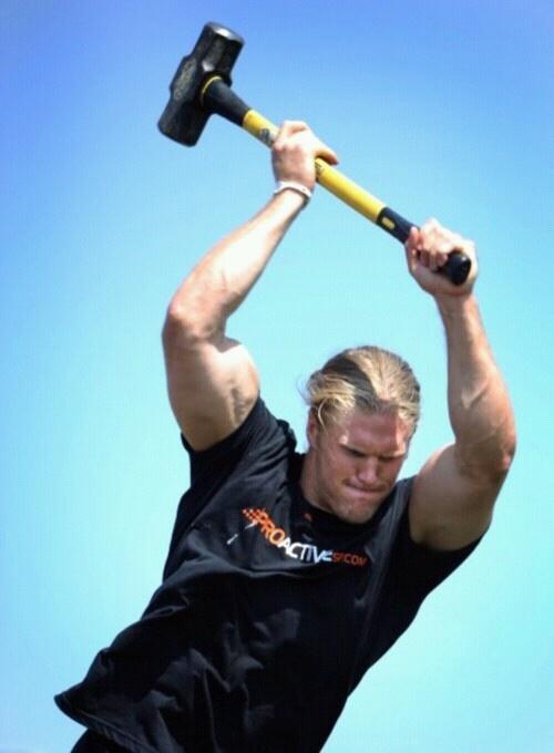 Clay Matthews is my Thor!! ahahhhahhahahahhaha(;