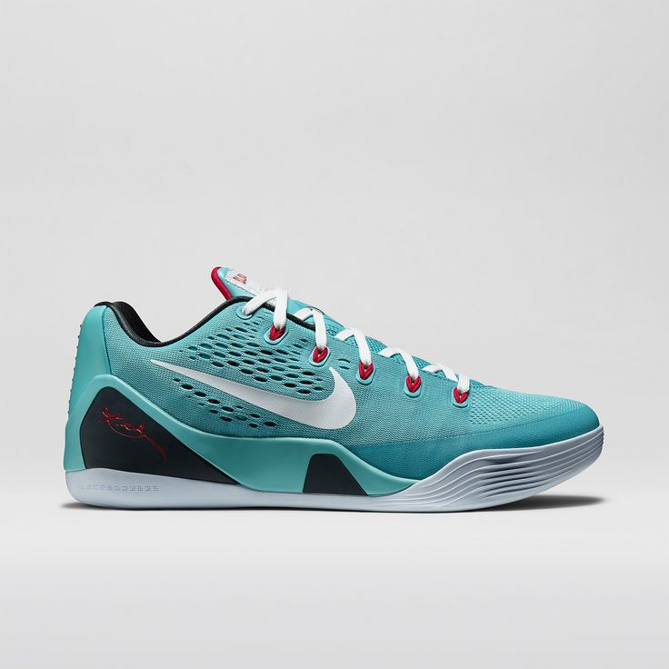 Nike Kobe 9 (Dusty Cactus / Action Red / Gym Blue / White) #