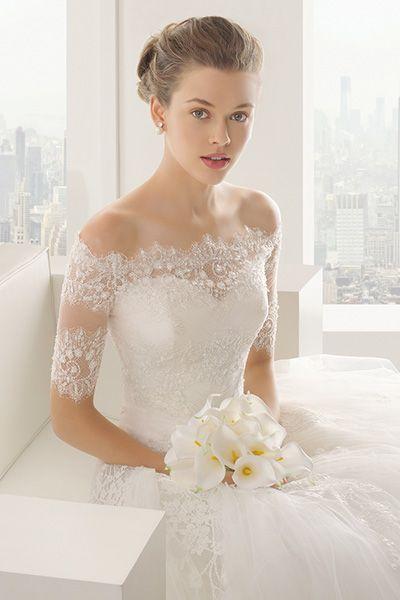 Wedding gown by Rosa Clara