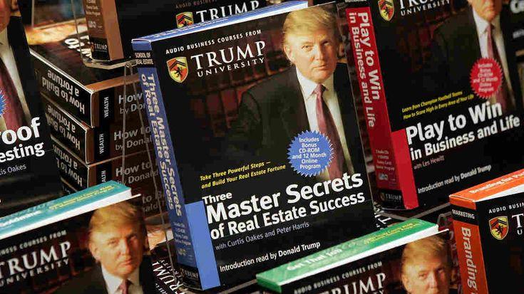Judge Approves $25 Million Settlement Of Trump University Lawsuit  : The Two-Way : NPR