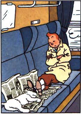 Tintin og Terry - Den Sorte Ø