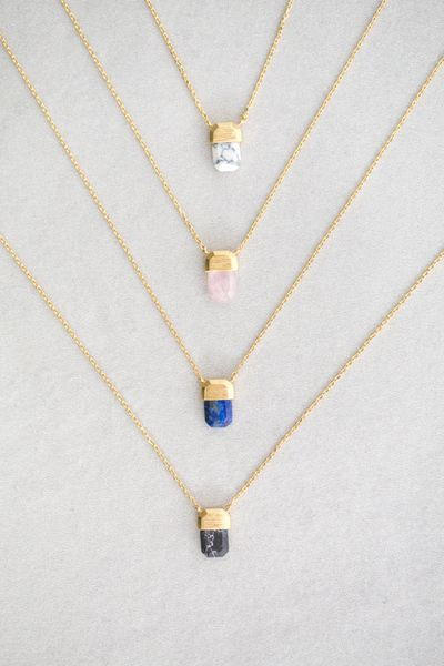 Pendant Stone Necklace