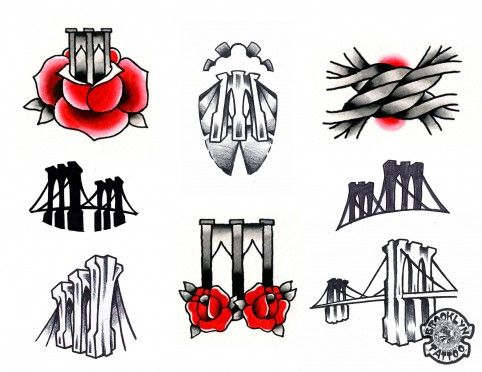 Special this weekend: $29 Brooklyn Bridge tattoos... Brooklyn Tattoo is back with its annual tattoo sale to celebrate the 129th anniversary of our beloved bridge. It's first-come, first-served on Sunday.