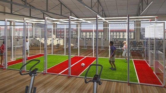 Jorkyball: il calcio in 'gabbia' che sogna di diventare uno sport