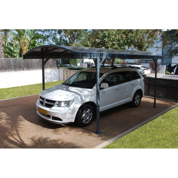 Vitoria 9 5 Ft X 16 5 Ft Canopy Carport Carport Kits Gazebo
