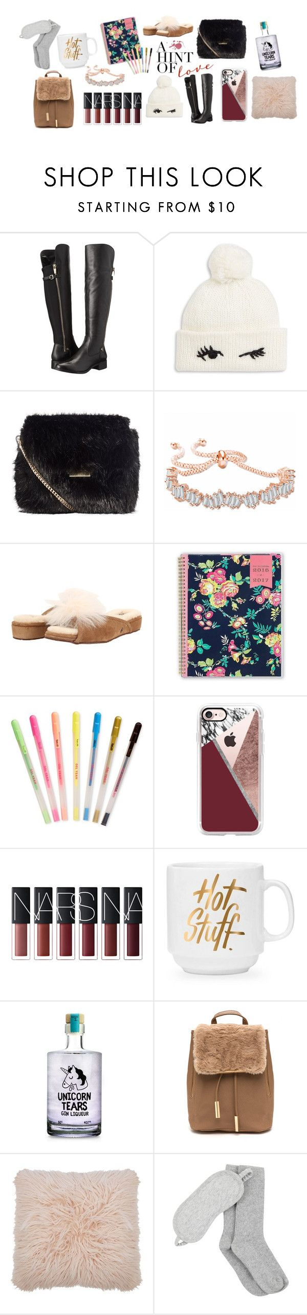 """BFF Gifts"" by wvazquez on Polyvore featuring Calvin Klein, Kate Spade, Karen Millen, UGG, Day Designer, ban.do, Casetify, M&Co and Mint Velvet"
