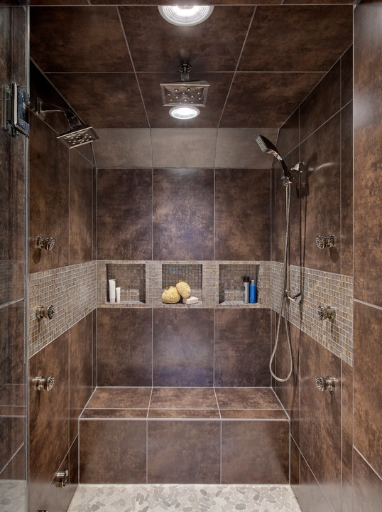 298 best Custom showers images on Pinterest Decorations - badezimmer justus