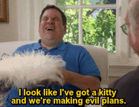 Making evil plans | Curb Your Enthusiasm: