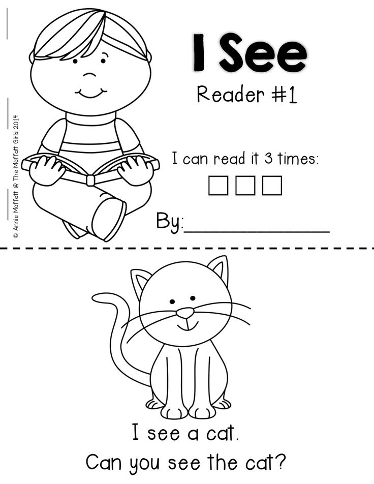 Emergent Readers for BEGINNING and/or STRUGGLING readers!  Simple readers that help build confidence with SIGHT WORDS and CVC words!