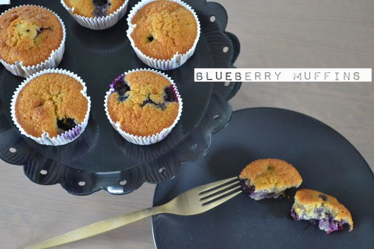 Craft Cook Love: Μάφιν με Μύρτιλλα- Blueberry Muffins