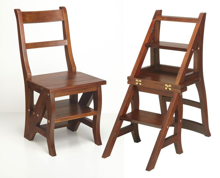 Ben Franklin folding chair/stool...a great mulit-use tool for the house.  18356_lg.jpg (900×727)
