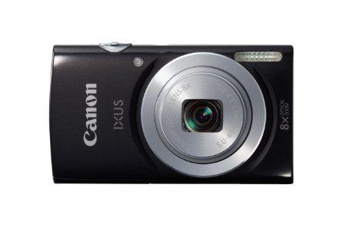 Canon Ixus 145 Appareil photo numérique compact 16 Mpix Ecran 2,7'' Zoom optique 8x Noir | Your #1 Source for Camera, Photo & Video