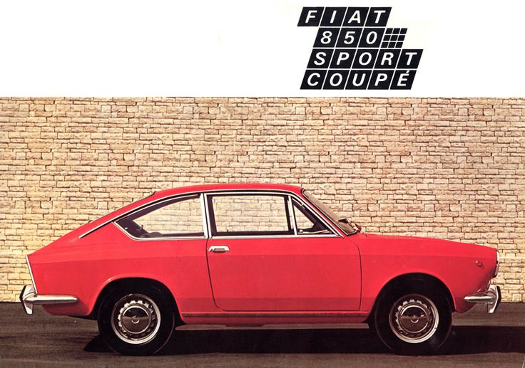 17 best images about cars fiat 850 sport coupe on pinterest fiat abarth advertising and. Black Bedroom Furniture Sets. Home Design Ideas