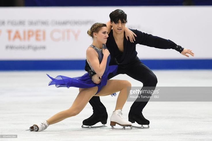 News Photo : Marjorie Lajoie and Zachary Lagha of Canada...