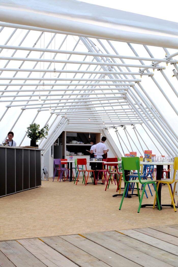 Asif Khan designs restaurant Xiringuito in Margate