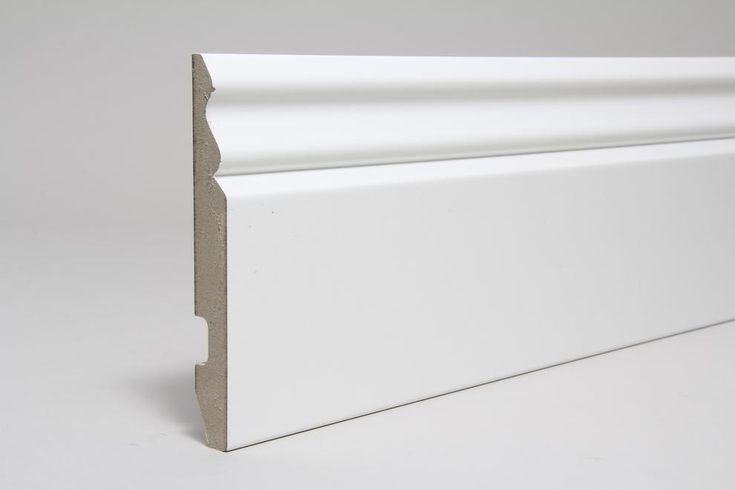 Image for Ogee 18mm x 144mm x  4.400m White Fully Finished  (Foil Wrapped)