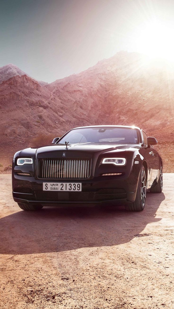#Cars #Rolls Royce Wraith Black Badge 4k # Tapeten