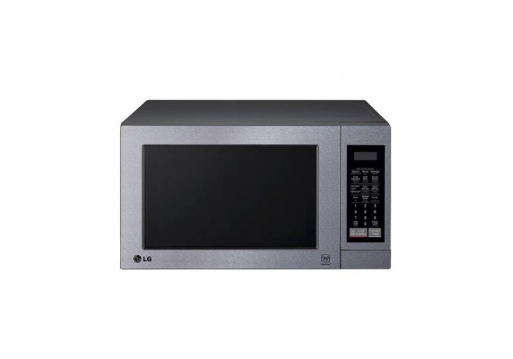 LG - 0.7 Cu. Ft. Stainless-Steel Compact Microwave