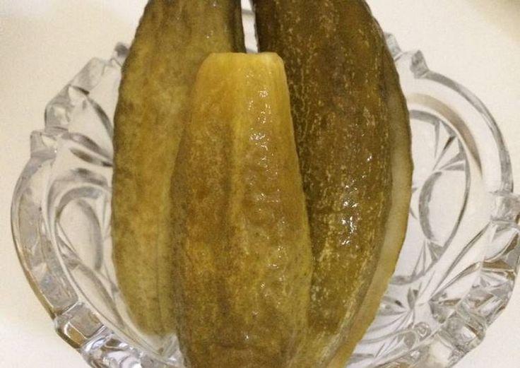 Roppanós kovászos uborka