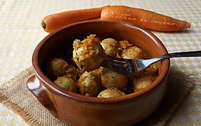 Polpette di pollo arrosto con carote - ricetta riciclo avanzi